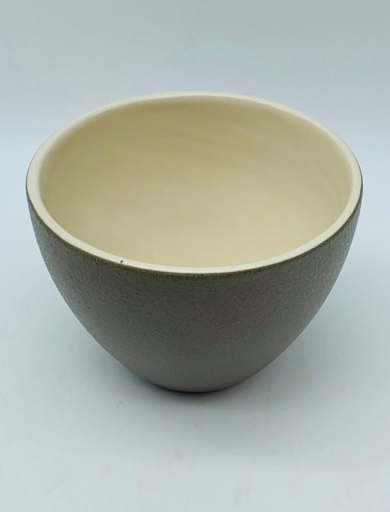 Blumentopf/Dekotopf (Lederoptik)