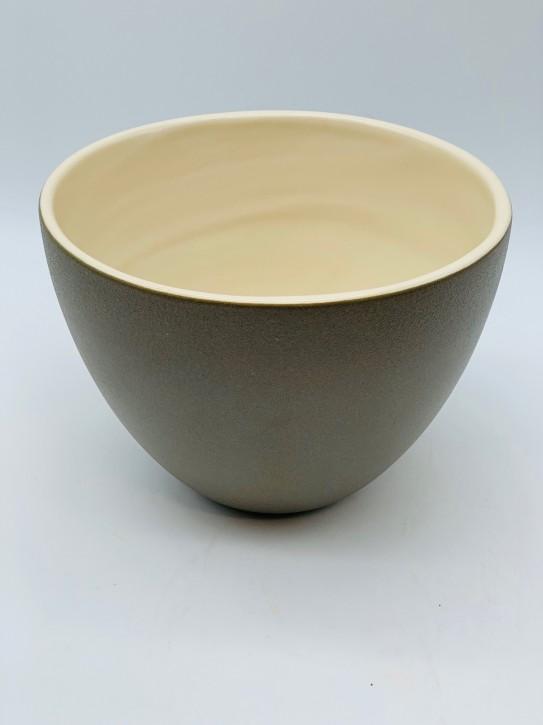 Blumentopf/Dekotopf (Lederoptik) - verkauft