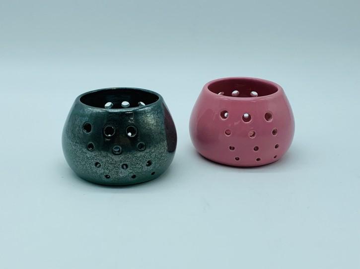 2 Teelichthalter